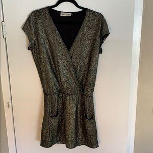Sparkly Gold/Black dress